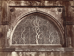 Carved stone window in Seedee Syed's Mosque. Dimension 10ft x 7ft, Ahmedabad.